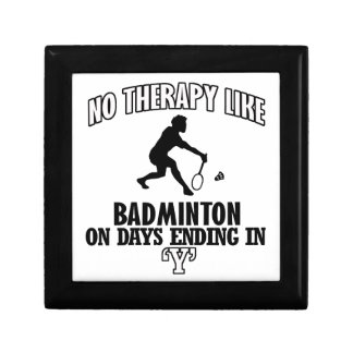 Trending Badminton designs Gift Box