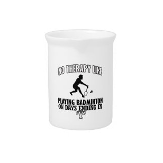 Trending Badminton designs Pitcher