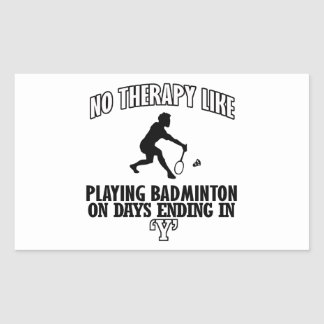 Trending Badminton designs Sticker