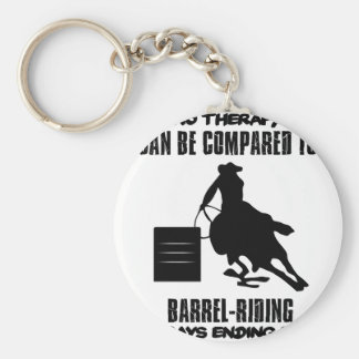 Trending Barrel-riding designs Keychain
