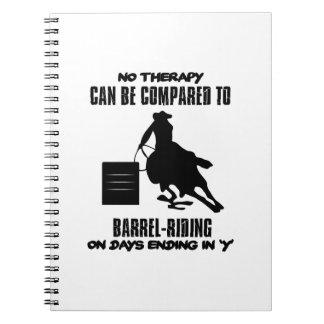 Trending Barrel-riding designs Notebooks