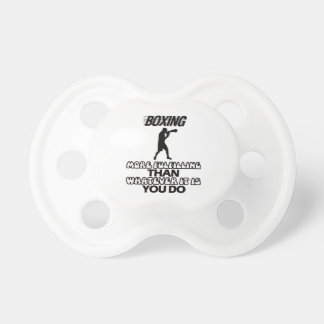Trending Boxing DESIGNS Baby Pacifiers