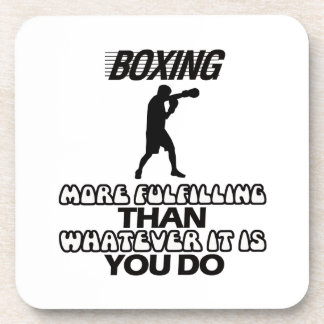 Trending Boxing DESIGNS Coaster