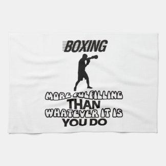 Trending Boxing DESIGNS Kitchen Towel