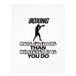 Trending Boxing DESIGNS Letterhead