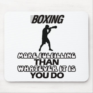 Trending Boxing DESIGNS Mouse Pad