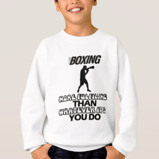 Trending Boxing DESIGNS Sweatshirt