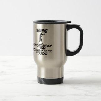 Trending Boxing DESIGNS Travel Mug