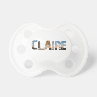 TRENDING CLAIRE NAME DESIGNS BABY PACIFIERS