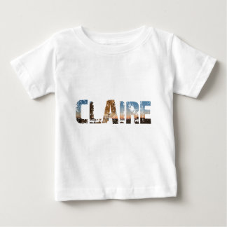 TRENDING CLAIRE NAME DESIGNS BABY T-Shirt