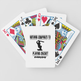 Trending cool Cricket designs Bicycle Playing Cards