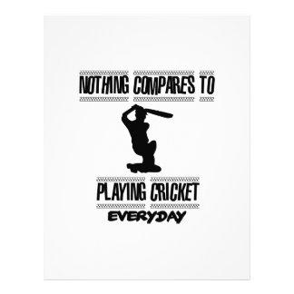 Trending cool Cricket designs Letterhead