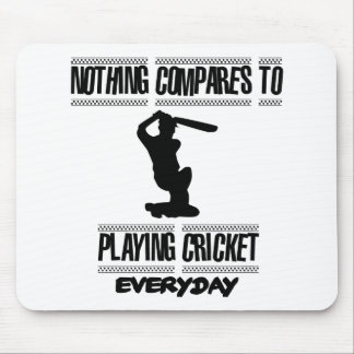 Trending cool Cricket designs Mouse Pad