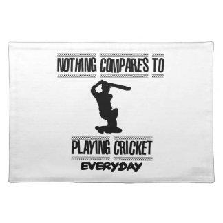 Trending cool Cricket designs Place Mat