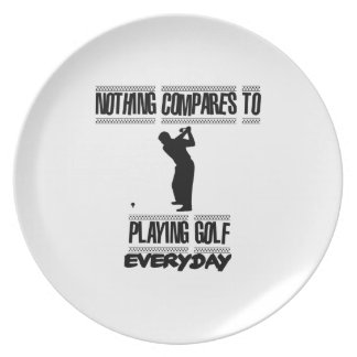 Trending cool Golf designs Plate