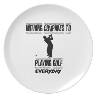 Trending cool Golf designs Plate