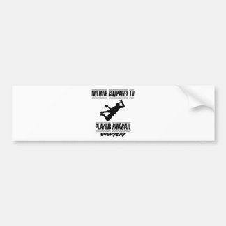 Trending cool Handball designs Bumper Sticker