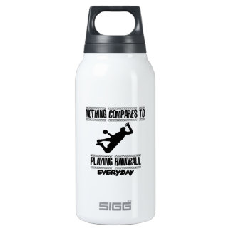 Trending cool Handball designs Insulated Water Bottle