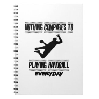 Trending cool Handball designs Spiral Notebook
