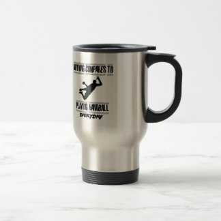 Trending cool Handball designs Travel Mug