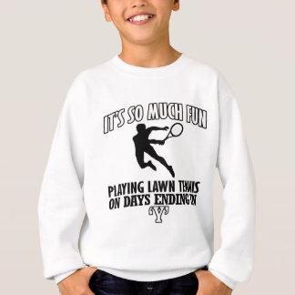 Trending cool Lawn-tennis designs Sweatshirt
