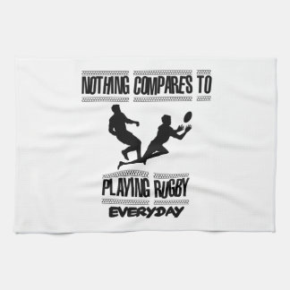 Trending cool Rugby designs Kitchen Towel