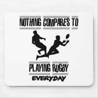 Trending cool Rugby designs Mouse Pad