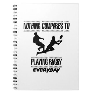 Trending cool Rugby designs Notebook