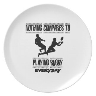 Trending cool Rugby designs Plate