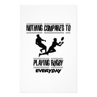 Trending cool Rugby designs Stationery Design