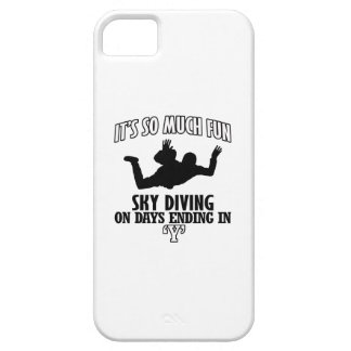 Trending cool sky-diving designs iPhone 5 covers