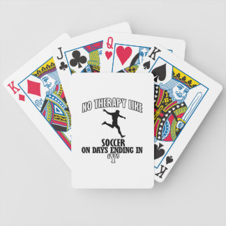 Trending cool Soccer designs Bicycle Playing Cards