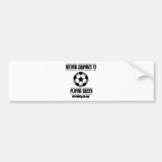 Trending cool Soccer designs Bumper Sticker