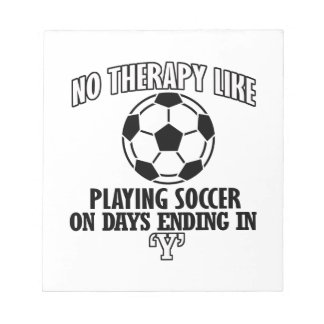 Trending cool Soccer designs Notepad