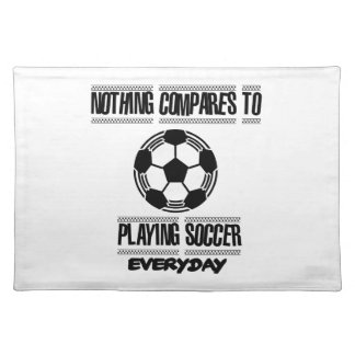 Trending cool Soccer designs Placemat