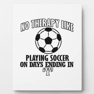 Trending cool Soccer designs Plaque