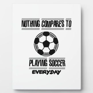 Trending cool Soccer designs Plaque