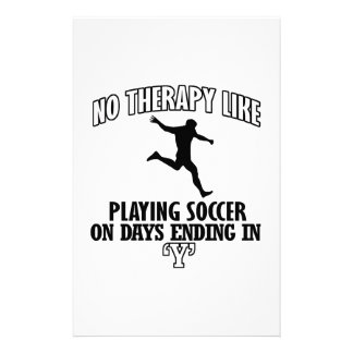 Trending cool Soccer designs Stationery
