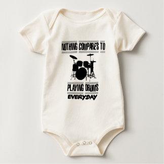 Trending Drummer designs Baby Bodysuit