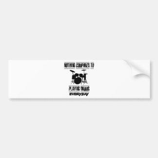 Trending Drummer designs Bumper Sticker