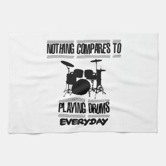 Trending Drummer designs Kitchen Towel