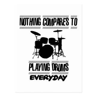 Trending Drummer designs Postcard
