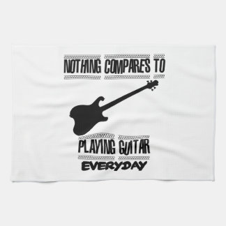 Trending Guitar player designs Kitchen Towel