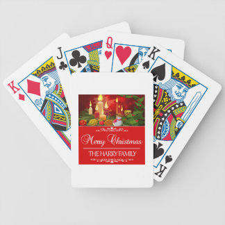 Trending Harry Family Christmas design Bicycle Playing Cards