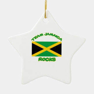 Trending Jamaican DESIGNS Ceramic Star Ornament