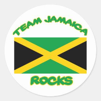 Trending Jamaican DESIGNS Round Sticker