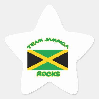 Trending Jamaican DESIGNS Star Sticker