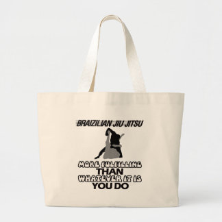 Trending Jiu Jitsu DESIGNS Large Tote Bag