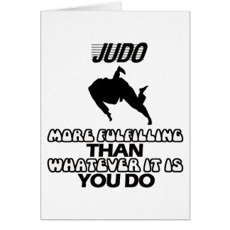 Trending Judo DESIGNS Card