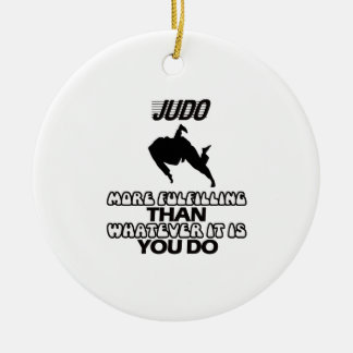 Trending Judo DESIGNS Ceramic Ornament